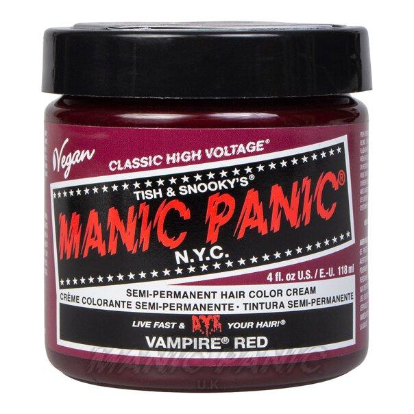 Manic Panic High Voltage Classic Tinte Capilar Semi-Permanente 118ml (Vampire Red - Rojo)