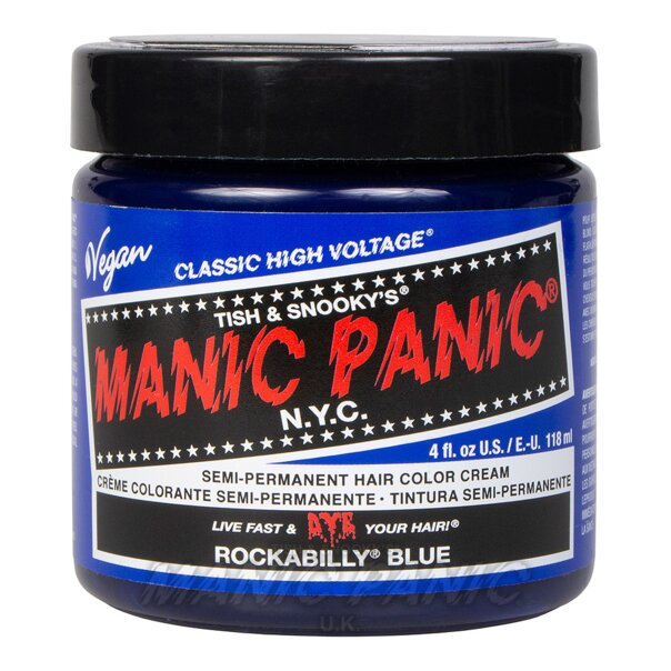 Manic Panic High Voltage® Classic Hair Colour 118ml (Rockabilly® Blue)