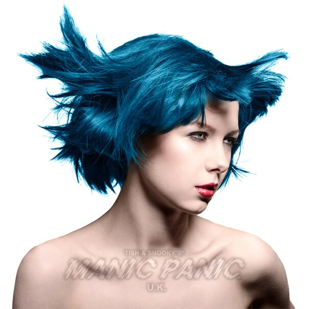 Manic Panic Coloration Semi Permanente Classic High Voltage 118ml (After Midnight - Bleu)