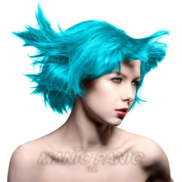 Colorante Per Capelli Semi-Permanente Amplified Manic Panic 118ml (Atomic Turquoise - Turchese)