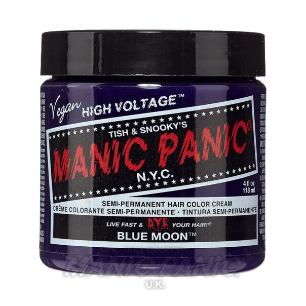 Manic Panic High Voltage Classic Haarfarbe 118ml (Blue Moon - Blau)