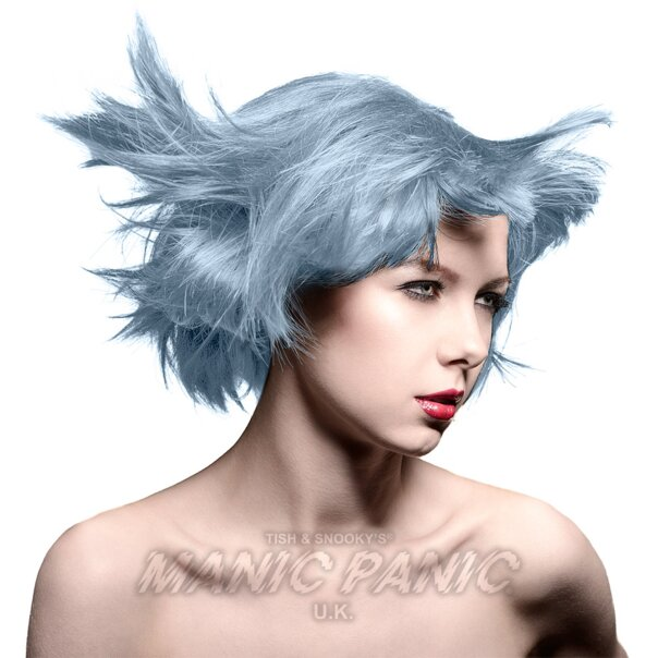 Tintura Per Capelli Semi-Permanente Manic Panic Classic High Voltage 118ml (Blue Steel - Blu/Argenteo)