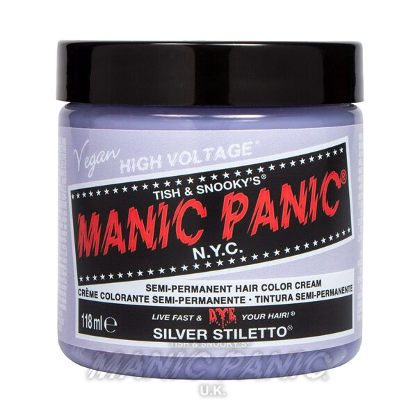 Manic Panic High Voltage Classic Tinte Capilar Semi-Permanente 118ml (Stiletto - Plateado)