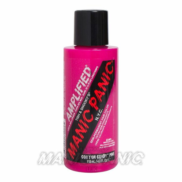 Manic Panic Amplified Semi-Permanente Haarfarbe 118ml (Cotton Candy Pink - Rosa)