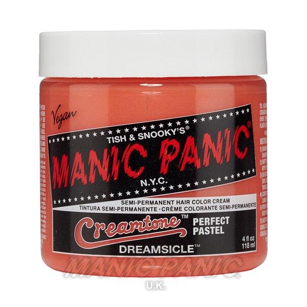 Manic Panic Creamtones Perfect Pastel Haarfarbe 118ml (Dreamsicle - Orange)