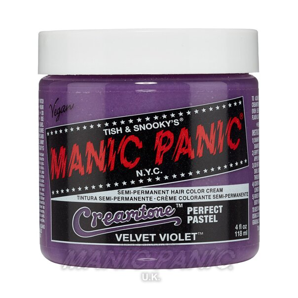 Manic Panic Creamtones™ Perfect Pastel Hair Color 118ml (Velvet Violet™)