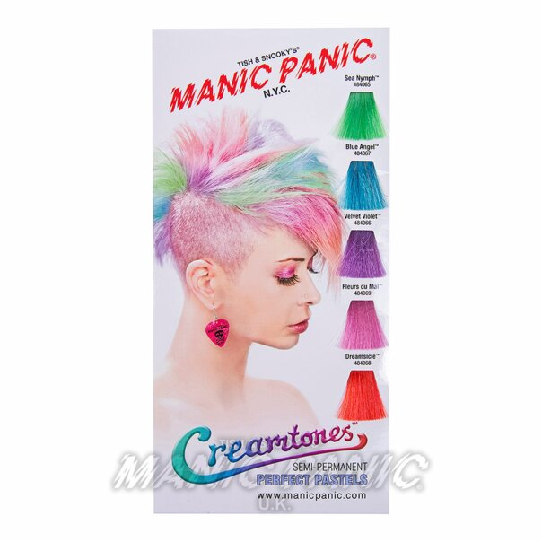 Manic Panic Creamtones Colour Swatch