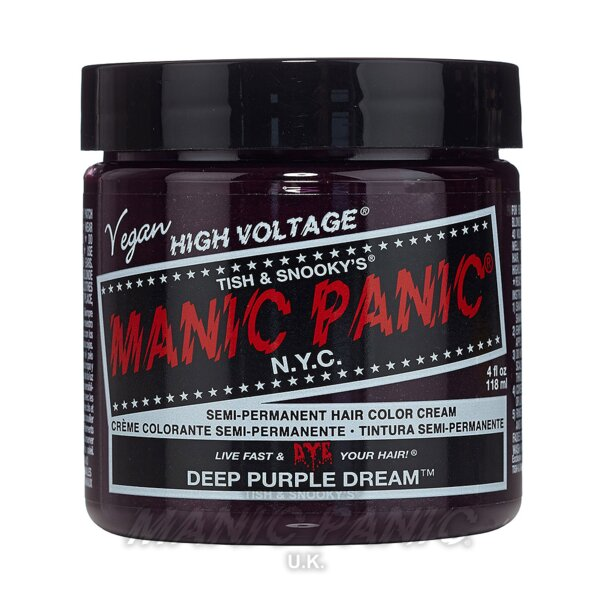 Manic Panic High Voltage® Classic Hair Colour 118ml (Deep Purple Dream™)