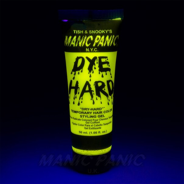 Manic Panic Dye Hard® Temporary Hair Color Styling Gels (Electric Banana®)