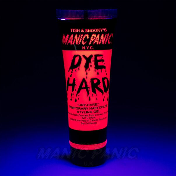 Manic Panic Dye Hard® Temporary Hair Color Styling Gels (Electric Flamingo™)