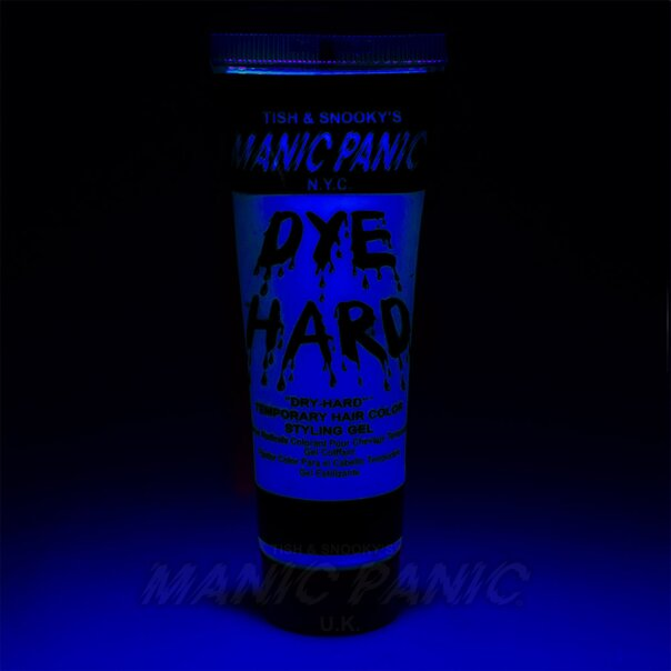 Manic Panic Dye Hard® Temporary Hair Color Styling Gels (Electric Sky™)