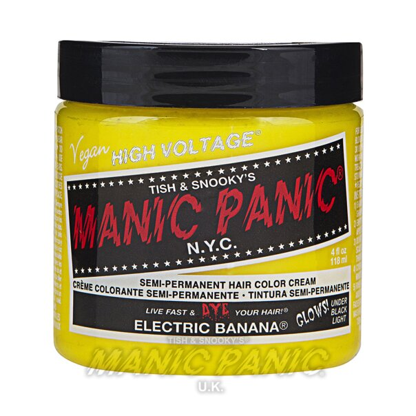 Manic Panic High Voltage Classic Haarfarbe 118ml (Electric Banana - Gelb)