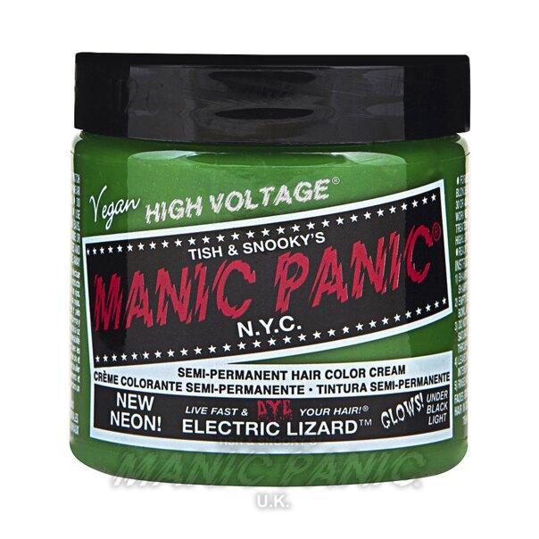 Manic Panic Coloration Semi Permanente Classic High Voltage 118ml (Electric Lizard - Vert)