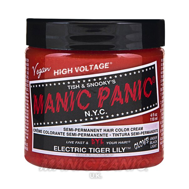 Manic Panic High Voltage® Classic Hair Colour 118ml (Electric Tiger Lily™)