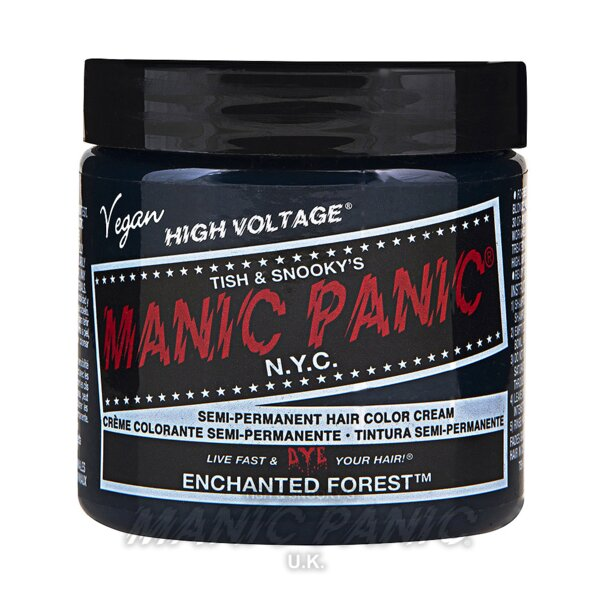 Tintura Per Capelli Semi-Permanente Manic Panic Classic High Voltage 118ml (Enchanted Forest - Verde)