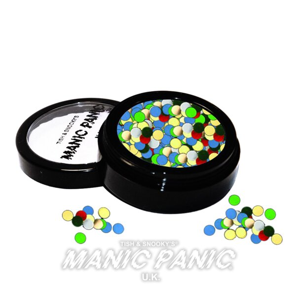 Paillette Metalliche Manic Panic Jewels (Polka Dot Puntini)