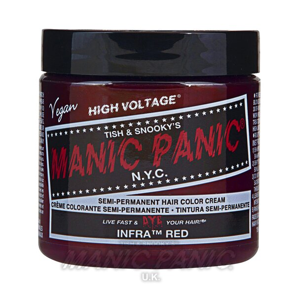 Manic Panic High Voltage® Classic Hair Colour 118ml (Infra™ Red)