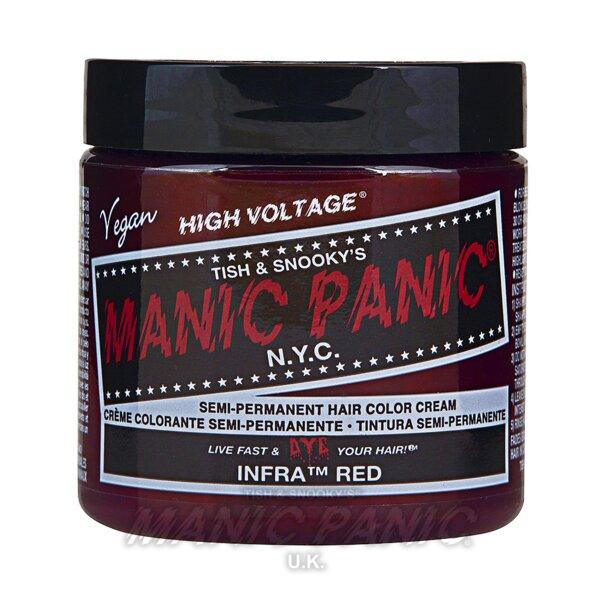 Tintura Per Capelli Semi-Permanente Manic Panic Classic High Voltage 118ml (Infra Red - Rosso)