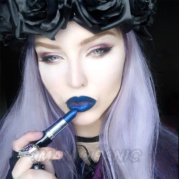 Manic Panic Ice Metals™ Lethal® Lipstick (Starry Night™)
