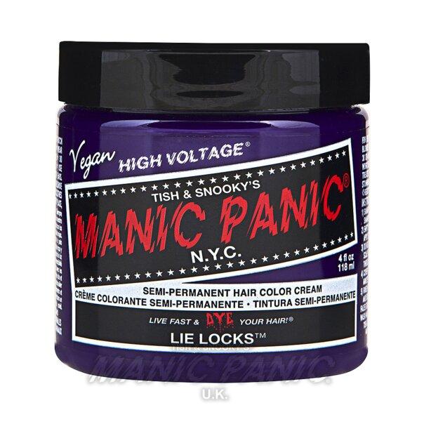 Tintura Per Capelli Semi-Permanente Manic Panic Classic High Voltage 118ml (Lie Locks - Viola)