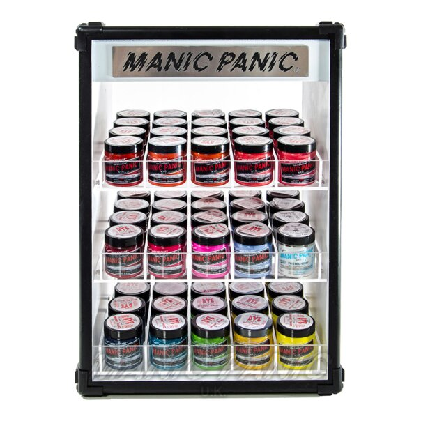 Manic Panic Light Up Display Stand (Black)