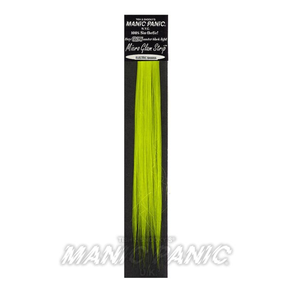 Manic Panic Micro Synthetic Glam Strips® (Electric Banana®)