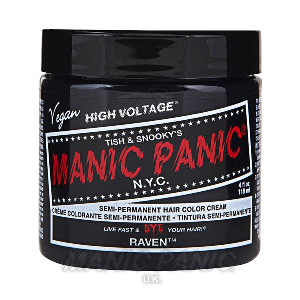 Manic Panic High Voltage® Classic Hair Colour 118ml (Raven™)
