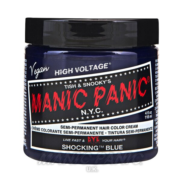 Manic Panic High Voltage Classic Haarfarbe 118ml (Shocking Blue - Blau)