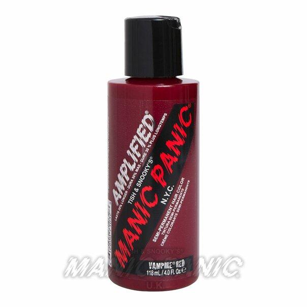 Manic Panic Amplified™ Semi Permanent Hair Color 118ml (Vampire® Red)-EU