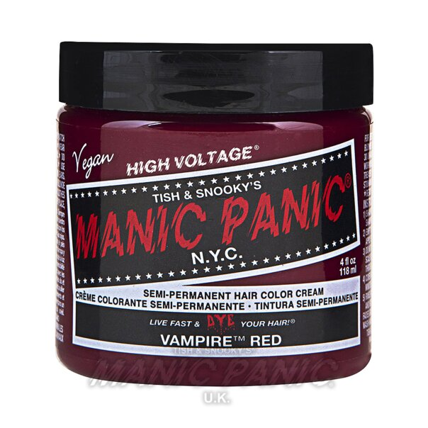 Manic Panic High Voltage® Classic Hair Colour 118ml (Vampire® Red)