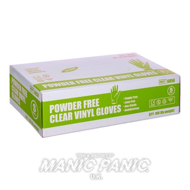Manic Panic Hair Dye Vinyl Small Gloves x 100