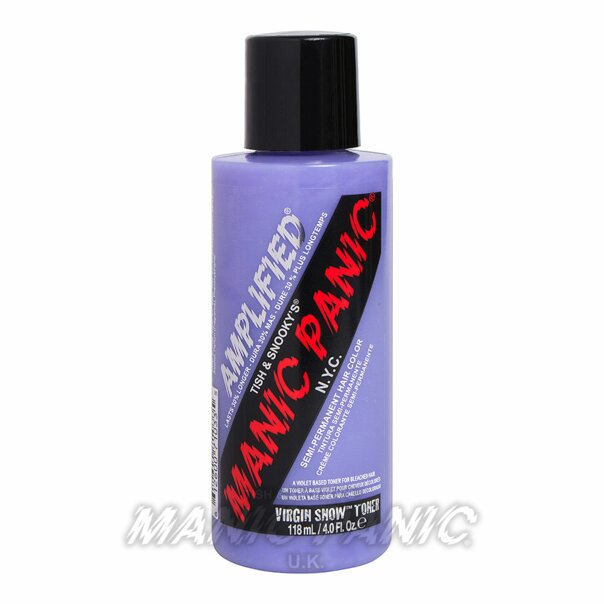 Manic Panic Amplified™ Semi Permanent Hair Color 118ml (Virgin Snow™ Toner) – EU