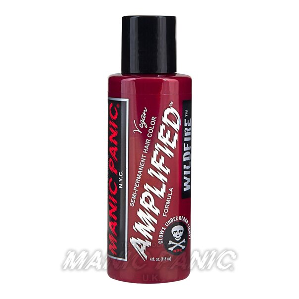Manic Panic Amplified™ Semi Permanent Hair Color 118ml (Wildfire™ Red)