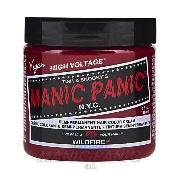 Manic Panic High Voltage Classic Haarfarbe 118ml (Wildfire - Rot)