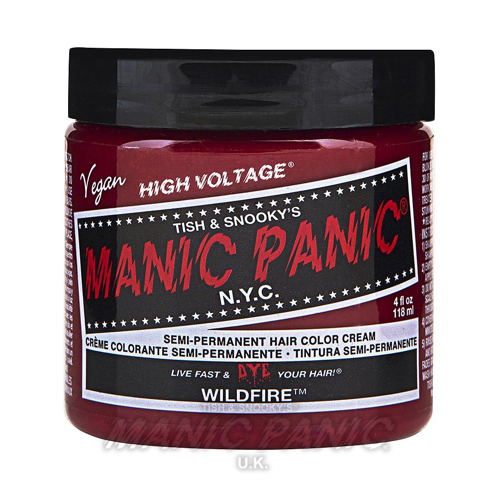 Wildfire High Voltage Classic Hair Dye Manic Panic Uk